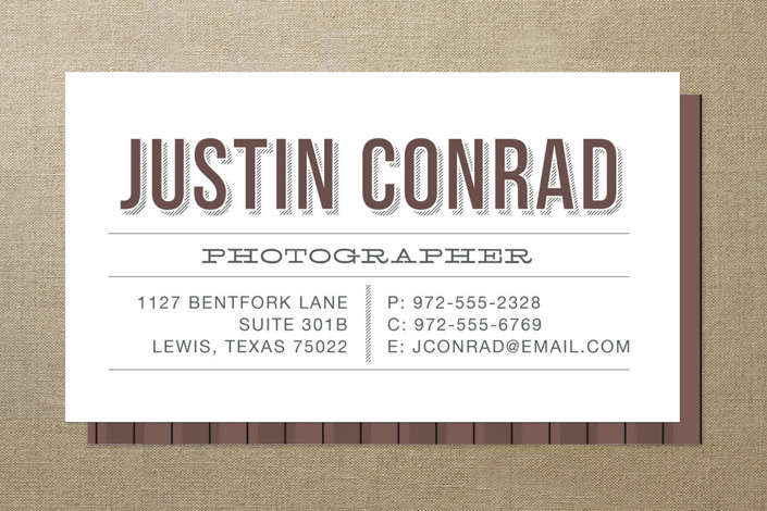 Typographic business cards ringleader paper co typographic business cards colourmoves